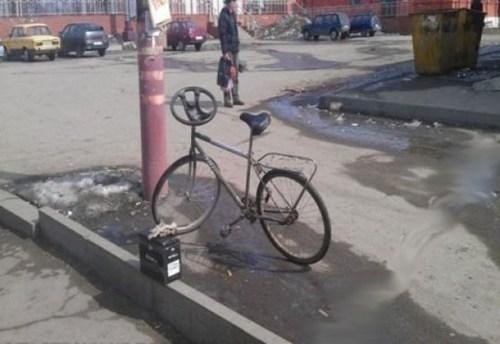 steering wheel bicycle bike 10 and 2 - 6881051648