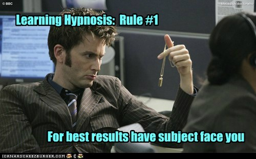 rules hypnosis David Tennant the doctor doctor who mistake - 6881169664