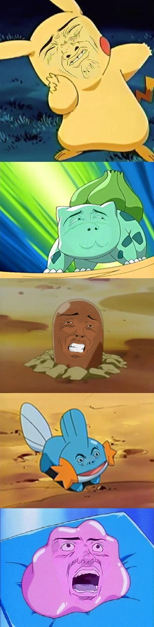 Pokémon gto funny faces omg