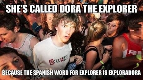 spanish,dora the explorer