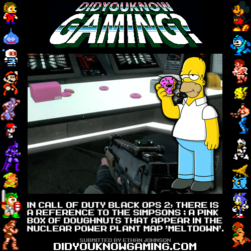 doughnuts black ops II the simpsons - 6881256960