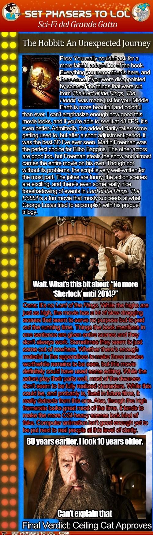 reviews peter jackson Lord of the Rings Martin Freeman ian mckellen movies The Hobbit - 6881355520