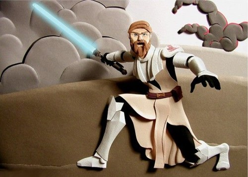 art star wars nerdgasm paper cutout - 6881625088