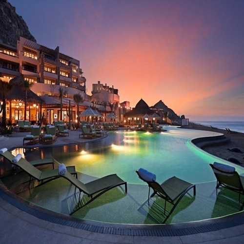 hotel mexico resort sunset - 6881628416