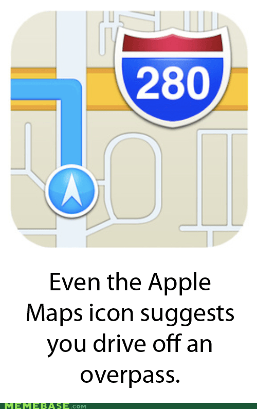 wtf,FAIL,apple maps,iphone