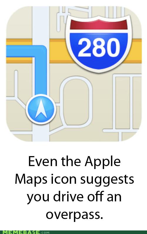 wtf FAIL apple maps iphone - 6881794816