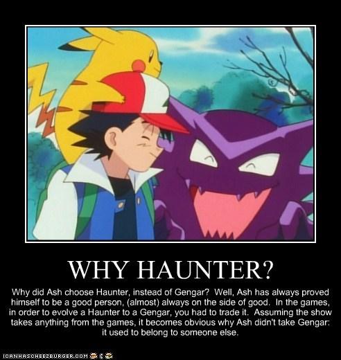 WHY HAUNTER?