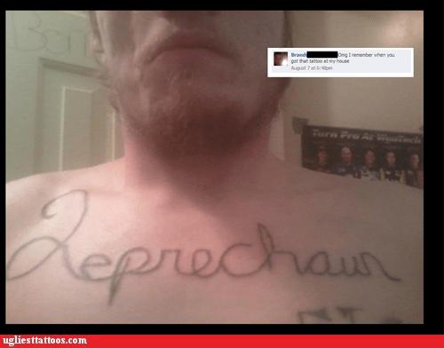 facebook leprechaun chest tattoos - 6881884160