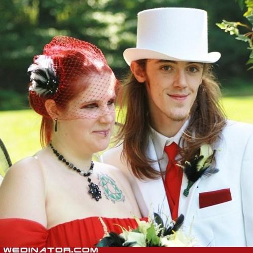 red blusher top hat blush veil - 6881886976