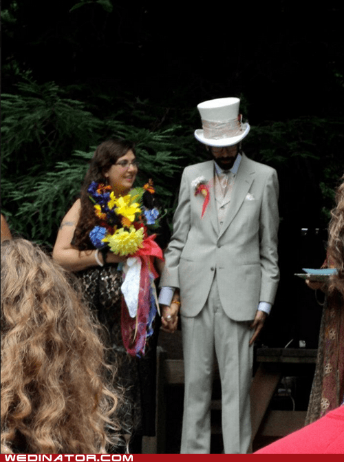 jumble,top hat,flowers,eclectic