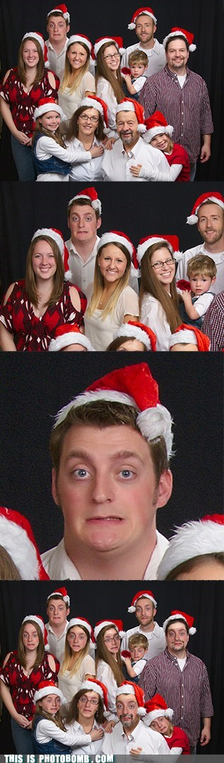 face replace santa family picture