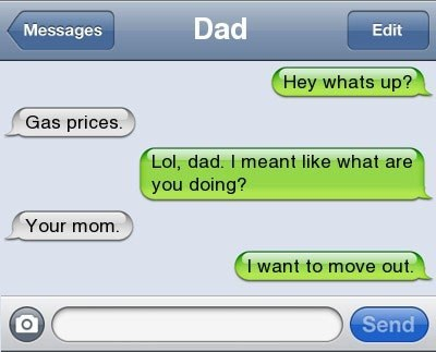 text message IRL troll dad fathers day - 6882942976