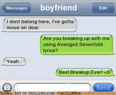 avenged sevenfold,relationships,breakups
