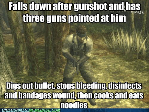 metal gear solid video game logic - 6883440128