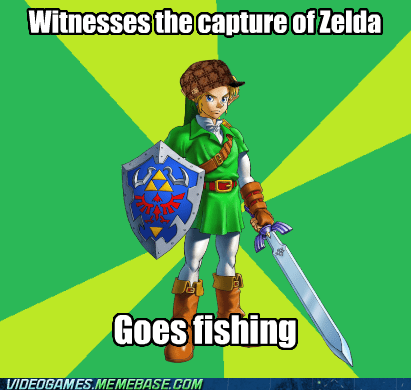 link fishing the legend of zelda nintendo - 6883550464