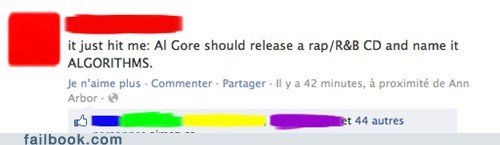 rap algorithms Al Gore al gore rhythms justin bieber failbook g rated