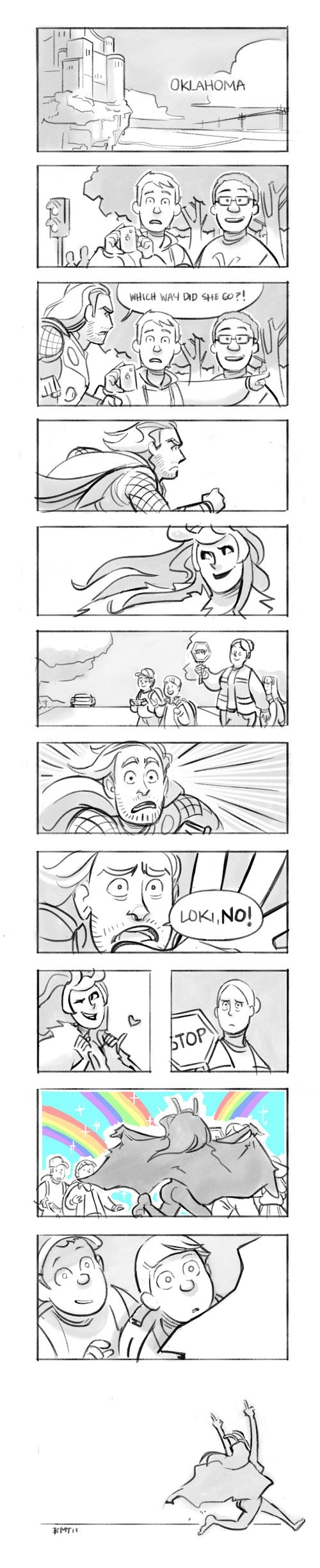 loki Thor comic sexy - 6884391168