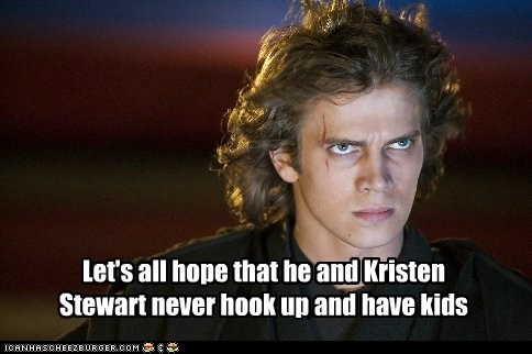 kristen stewart the revenge of the sith hope star wars kids bad acting hayden christensen anakin skywalker - 6884647680
