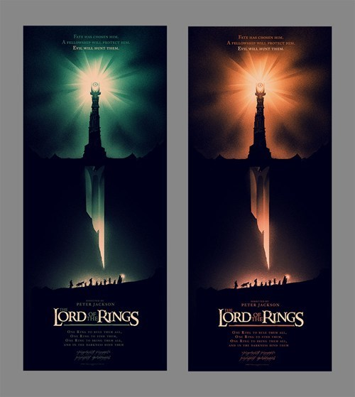 fantasy Lord of the Rings movies posters - 6884698880
