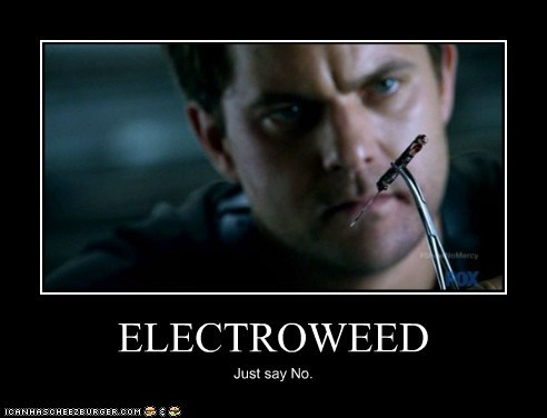 drugs,Fringe,peter bishop,electro,just say no,joshua jackson,weed