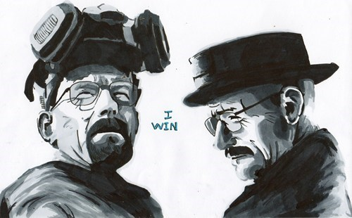 breaking bad walter white Fan Art - 6885728000