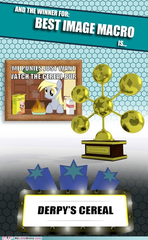 MLBrony of the year Derpy's cereal mlb awards MLB - 6886808576