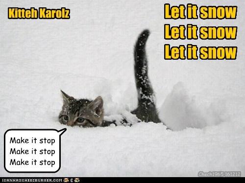 Kitteh Karolz Let it snow Let it snow Let it snow Make it stop Make it stop Make it stop Chech1965 161212