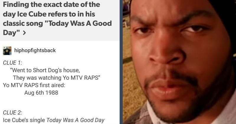 ice cube calendar tumblr smart social media math funny hip hop today was a good day - 6887173
