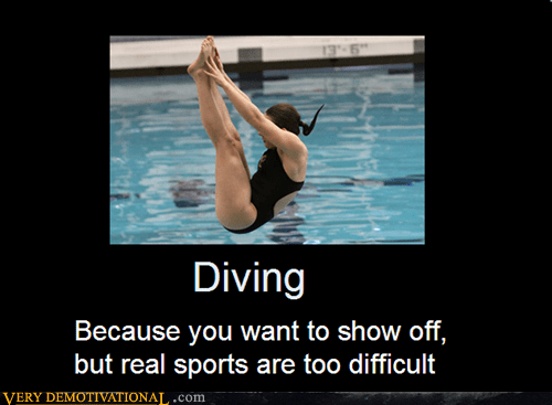 diving real sports difficult
