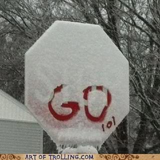 Snow - G0 tol eero ART OF TROLLING.COM