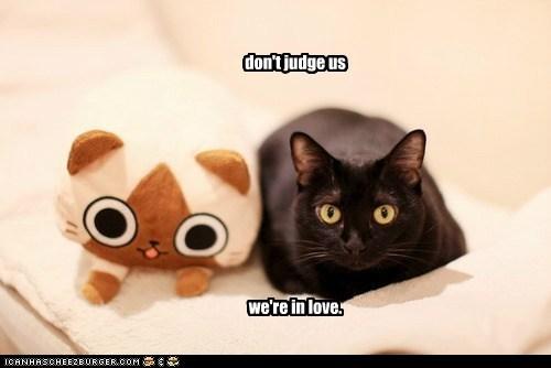 stop judging.
