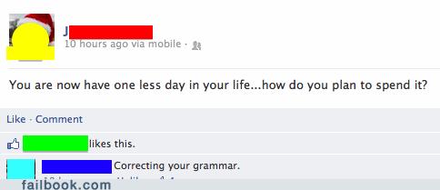 grammar nazi,grammar,correcting grammar