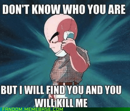 taken liam neeson Dragon Ball Z cartoons krillin