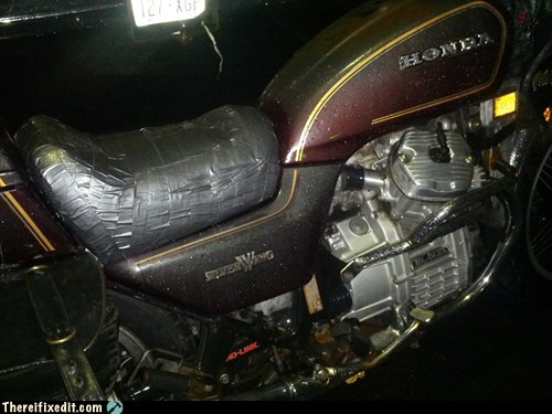 duct tape seat waterproof seat motorcycle seat waterproof