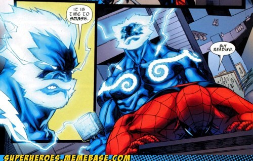 Spider-Man reading smash angry - 6890185984
