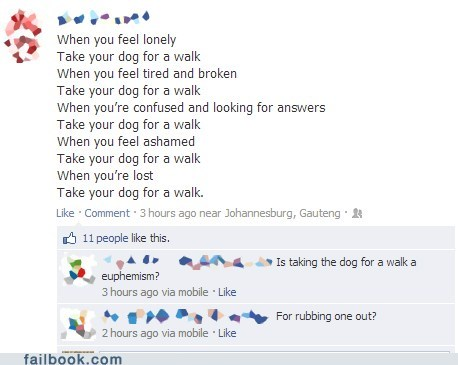dogwalking,sentimental moment,walking the dog,fapping,dogs