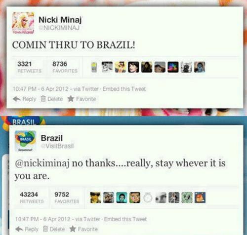 twitter brazil nicki minaj - 6890425344