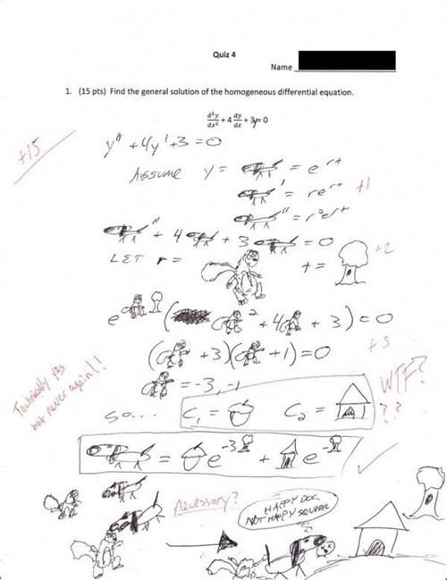 terrible teachers test humor math - 6890438912