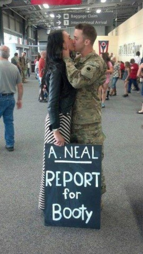 serving report for duty report for booty military homecoming dating fails g rated - 6890493184