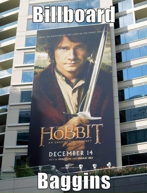 billboard The Hobbit - 6890588928