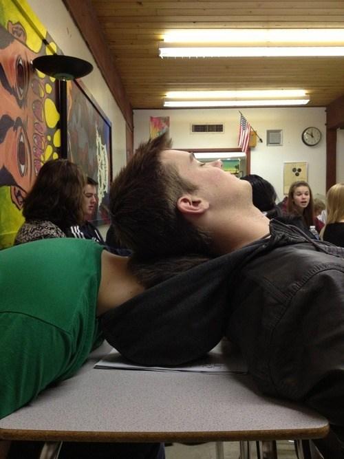 class,hoods,sleeping