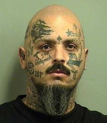 face tattoos mugshots - 6890823168