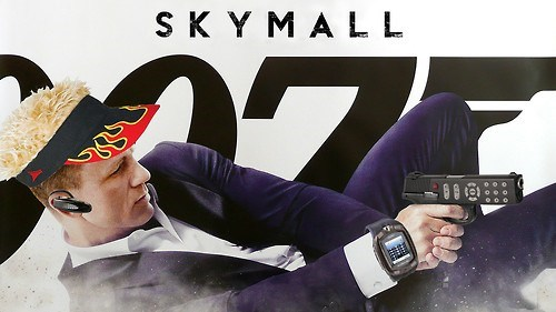 skymall shoop james bond skyfall similar sounding 007 - 6890985728
