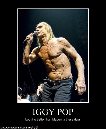 old Madonna better looking iggy pop - 6890994432