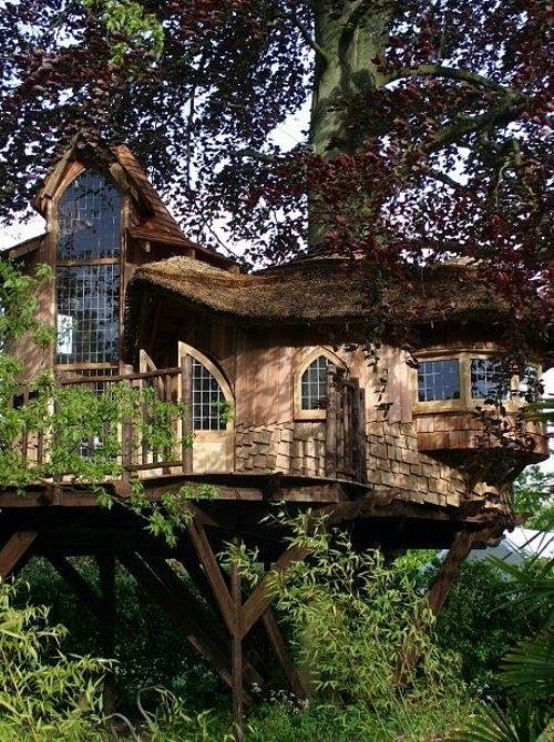 tree house design home getaway - 6891114752