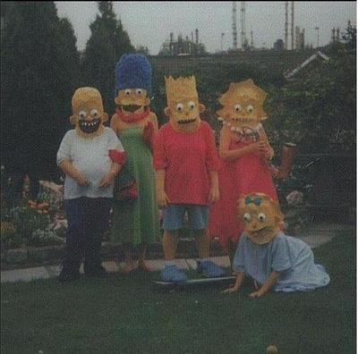 costume creepy the simpsons