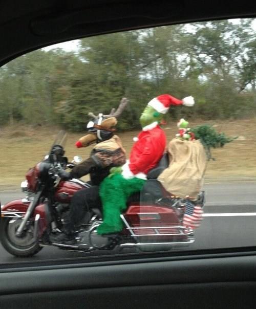 christmas grinch funny holidays g rated sketchy santas - 6891383808