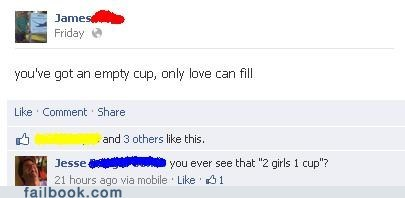2 girls 1 cup,glass half empty,glass half full