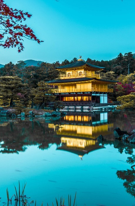 gold temple Japan lake Hall of Fame best of week - 6891528704