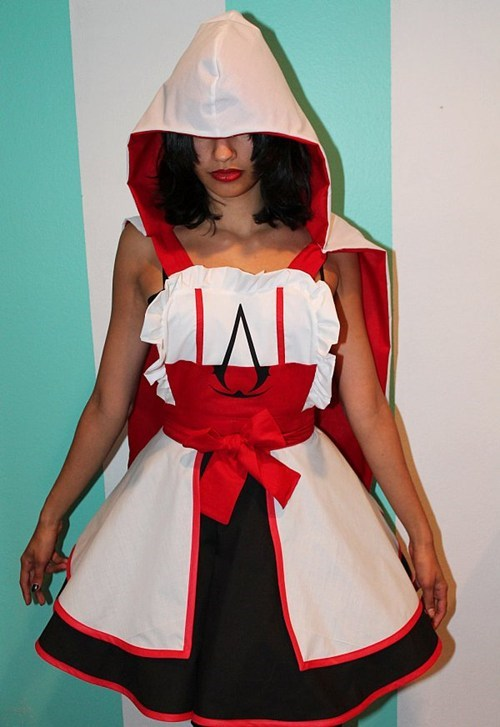 fashion cosplay apron assassins creed - 6891533568